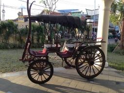 A horse-drawn carriage we found in Ubud, Bali.