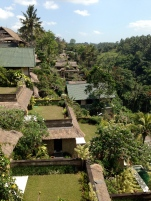 A resort at Ubud, Bali.