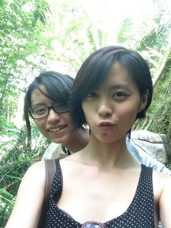 Trekking at Ubud, Bali.
