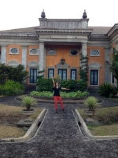 Vestiges of Dutch colonial building (now a spa at Kaliandra Eco Resort and Farm, Pandaan)
