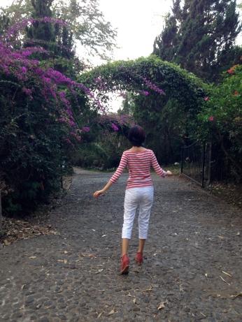 Garden at Kaliandra Eco Resort and Farm, Pandaan