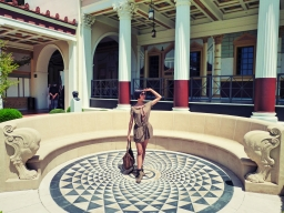 At Getty Villa
