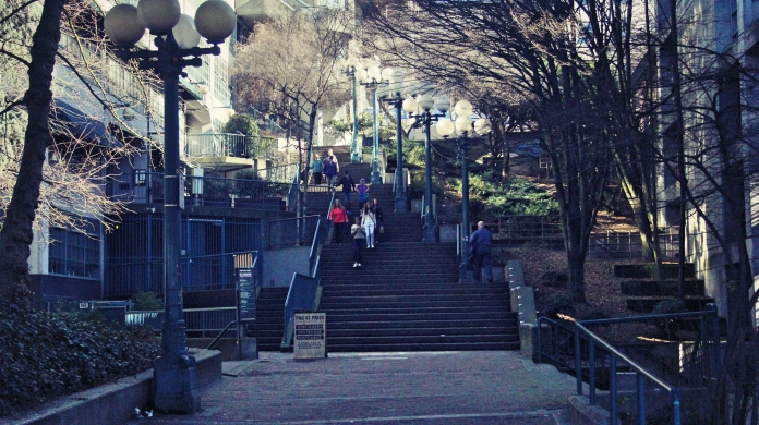 Stairs to Pike Market Place