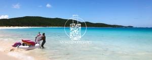 Flamenco Beach, sand, surf, snorkeling, puerto rico