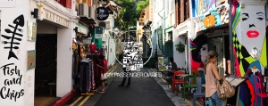 Haji Lane, Little India, Chinatown, Singapore, culture